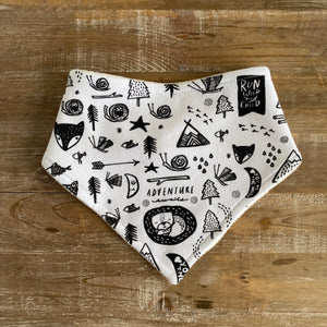 Bandana Bib in Adventure Awaits by Wee Gallery