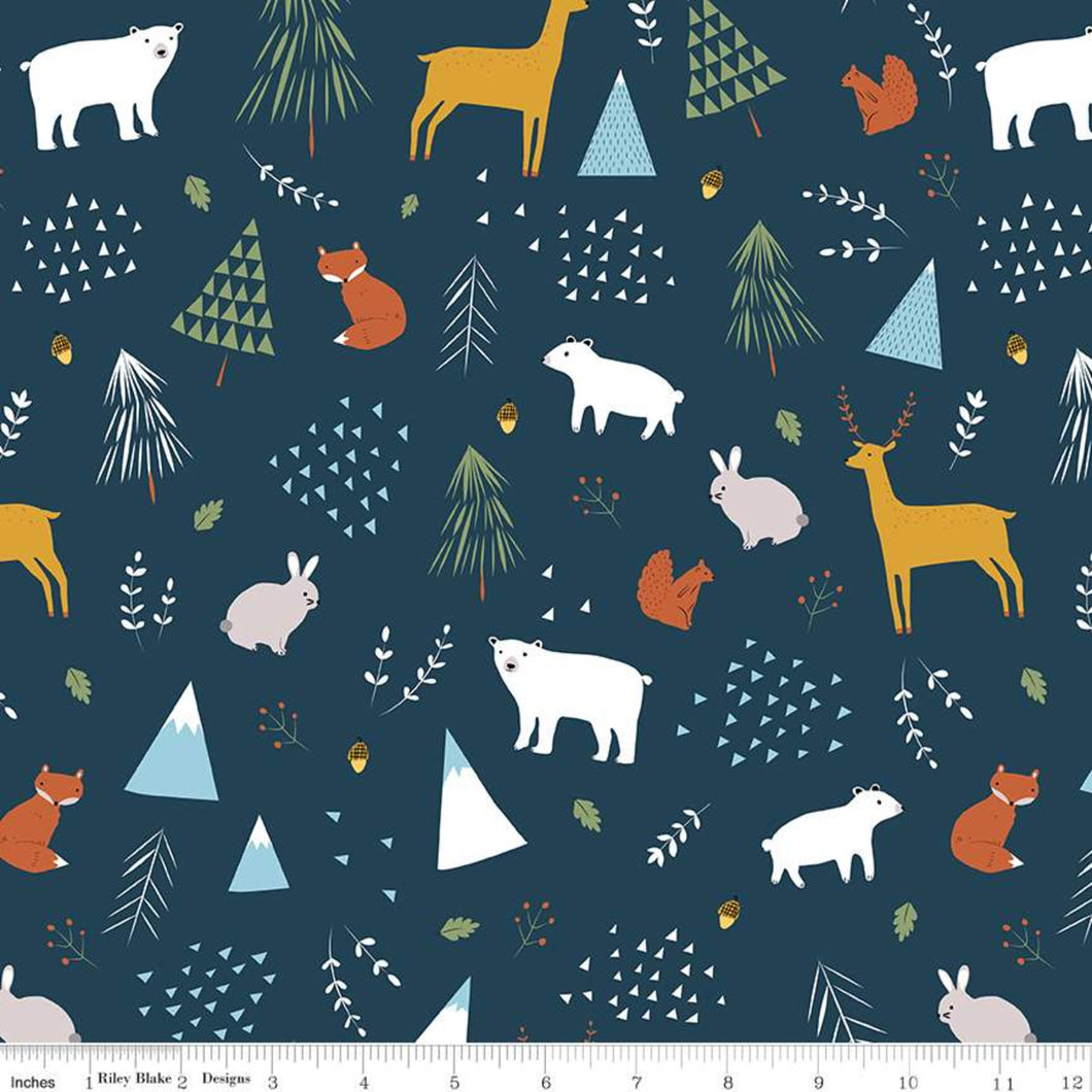 Chickadee Cover All In The Forest Navy