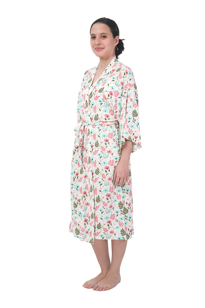 Mommy Robe, Floral