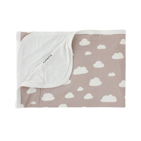 Bamboo Stretch Swaddle, Clouds