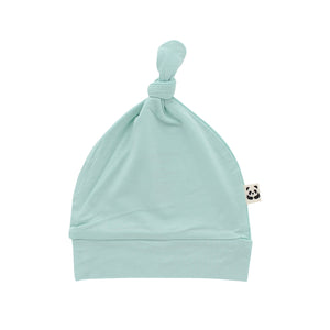 Knotted Hat, Eggshell Blue
