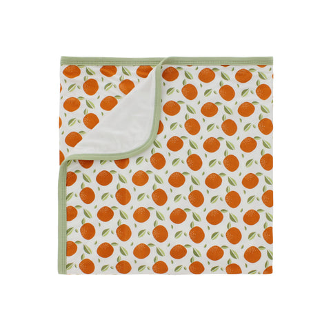 Bamboo Stretch Swaddle, Orange