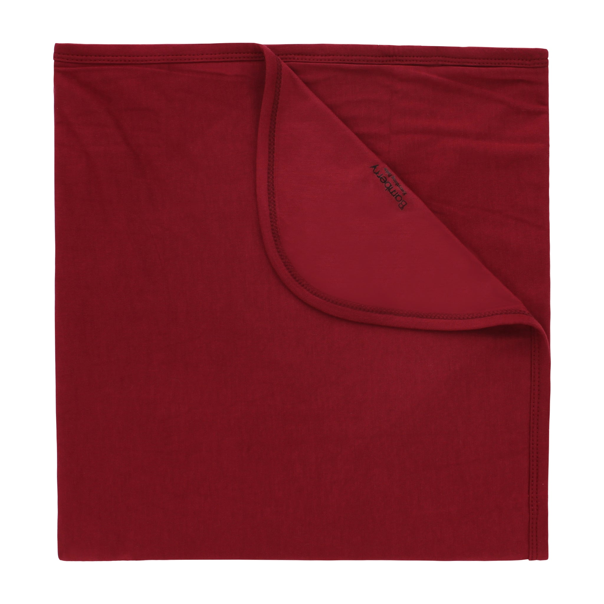Bamboo Stretch Swaddle, Berry Red