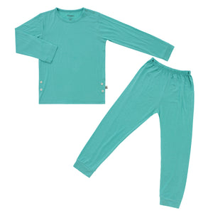 Pajama Set, Aqua Splash