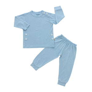 Pajama Set, Dusty Blue
