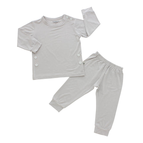 Pajama Set, Storm Grey