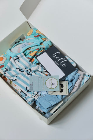 Boy Newborn Layette Set #1