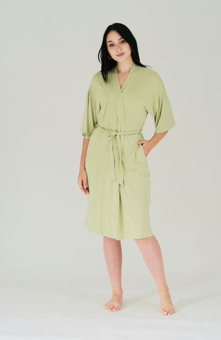 Mommy Robe, Pastel Green