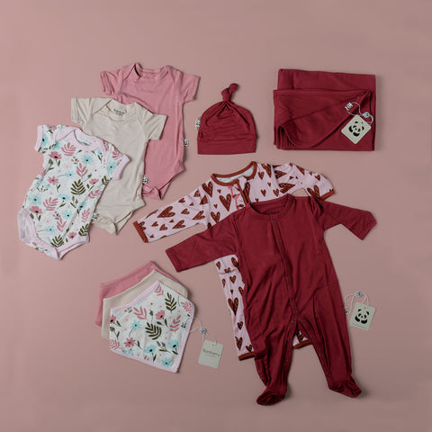 Girl Newborn Layette Set #2