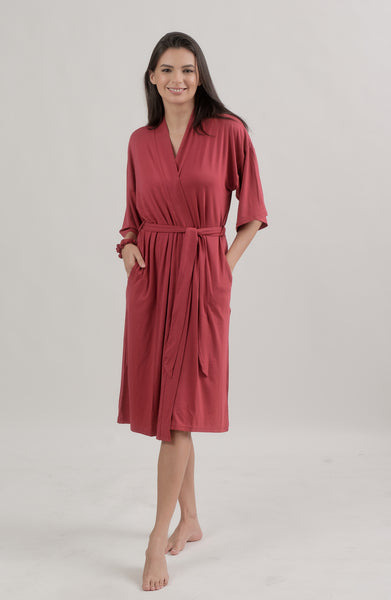 Mommy Robe, Berry Red