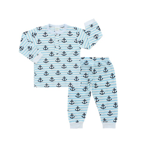 Pajama Set, Anchor