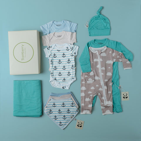 Boy Newborn Layette Set #2