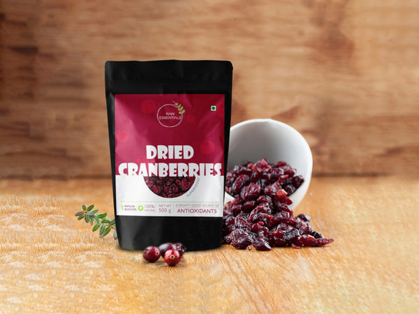 Dried Whole Cranberries 500g
