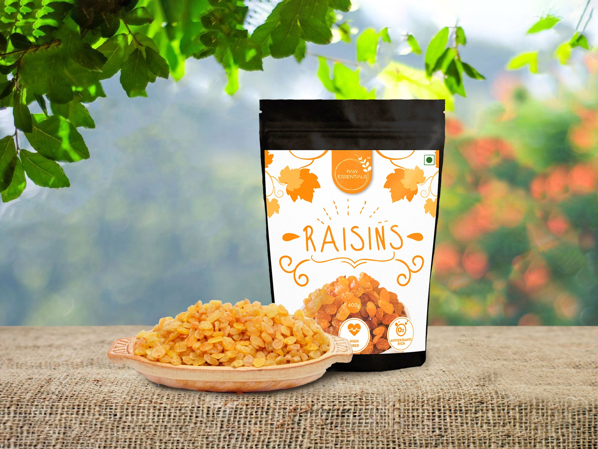 Golden Raisins 400g