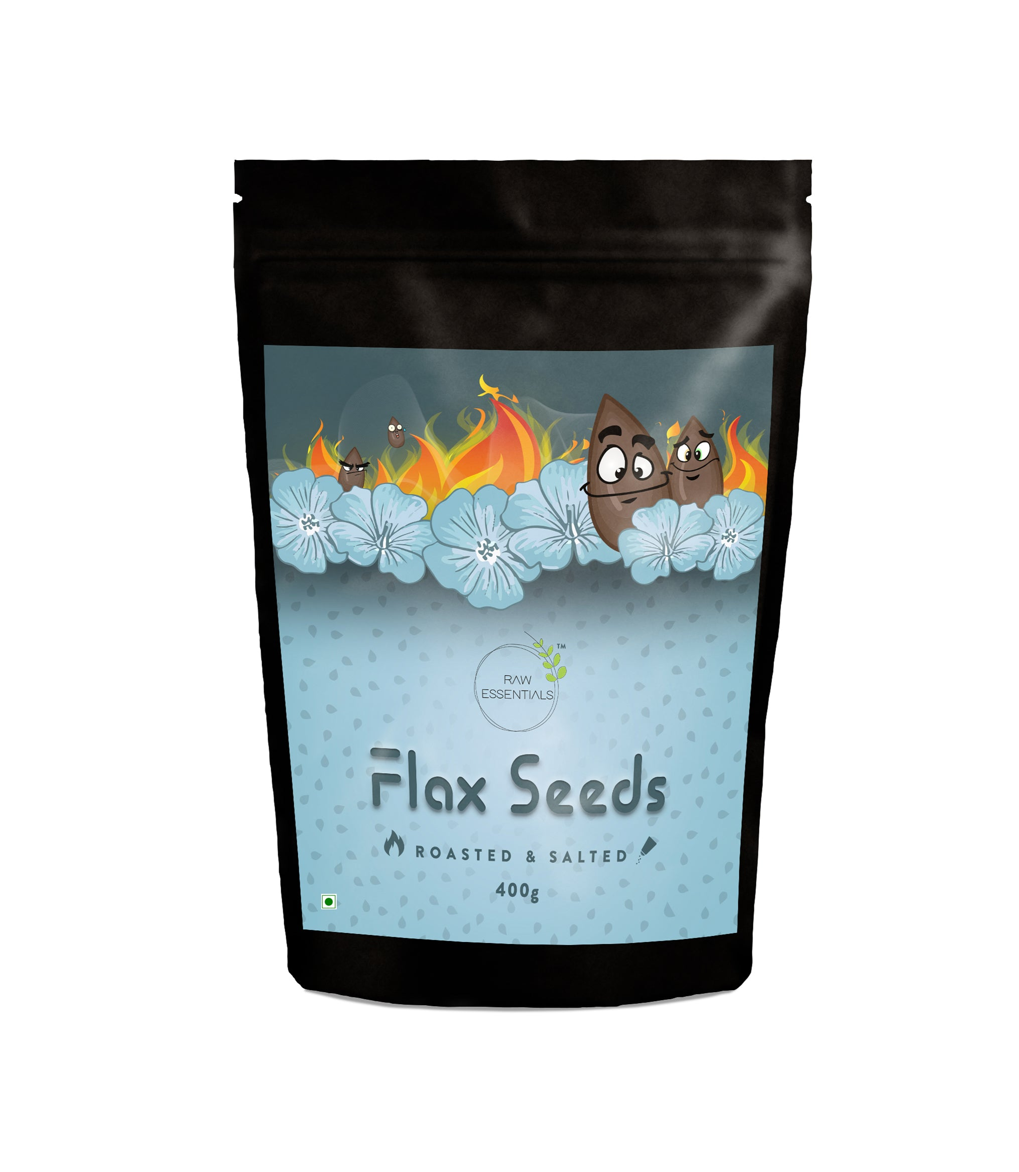 Roasted & Salted Flax seeds 400g
