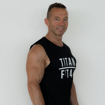 Mens Titan Fit 40 Tank
