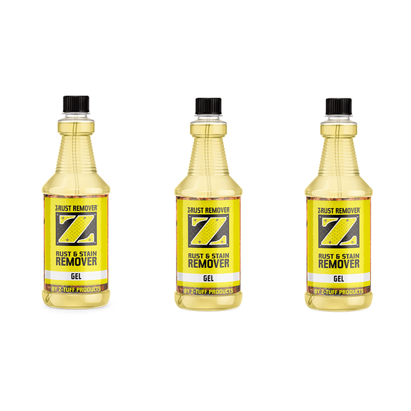 Z-Rust & Stain Remover Gel Bundle