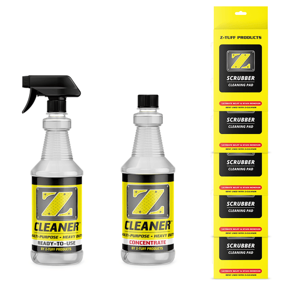 Z-Cleaner Quart Bundle w/ 5 Z-Scrubbers