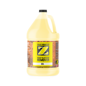 Z-Rust & Stain Remover Gel 1 Gallon Concentrate