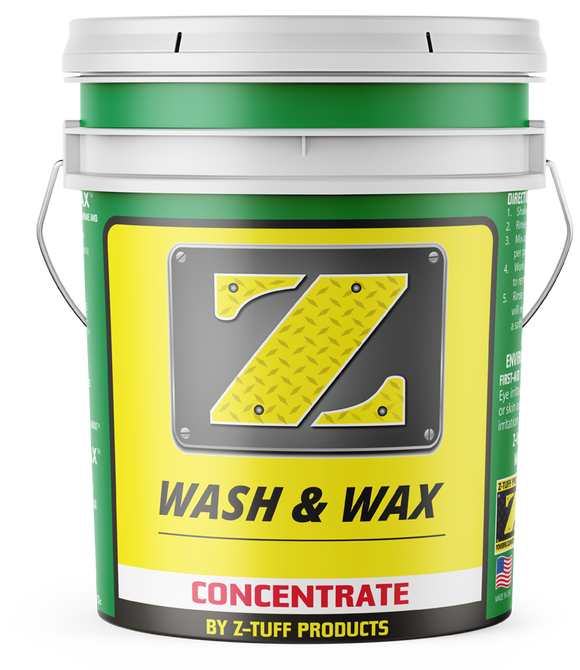 Z-Wash & Wax Concentrate 5 Gallon Bucket