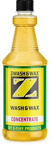 Z-Wash & Wax™ 32 Ounces Concentrated Soap