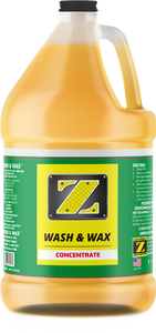 Z-Wash & Wax™ 1 Gallon Concentrated Soap