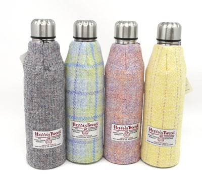 Female Harris Tweed Thermos Flasks