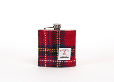 Harris Tweed 6oz Hip Flask - HT47