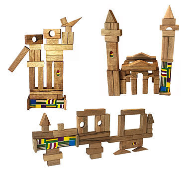 Wooden Constrution Blocks