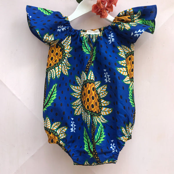Sunflower Skipper Romper