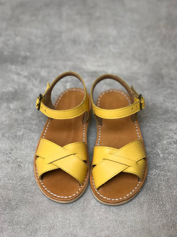 Sunflower Yellow Sandals