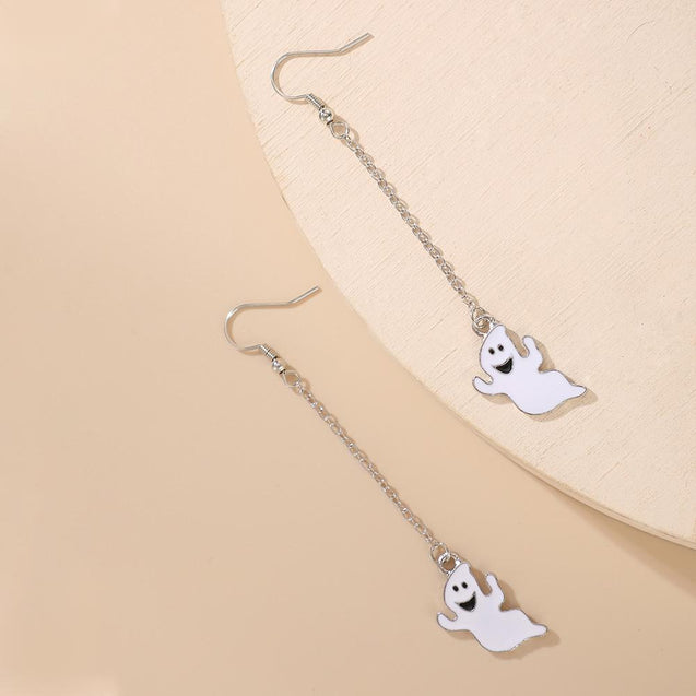 Ghost Drop Earrings Halloween Earrings