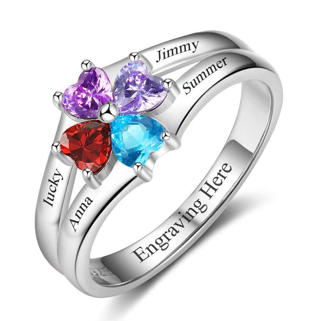 birthstone rings for mom Best gift for mom