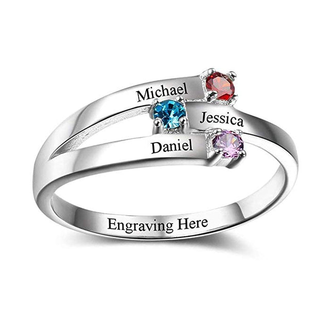 Family Rings Gift For Mom Mothers Ring