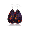 Pumpkin Leather Earrings 2 Pairs Drop Halloween Earrings