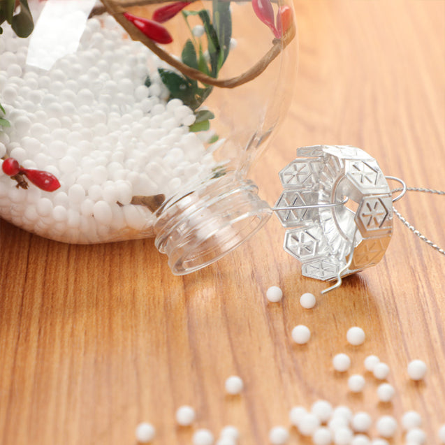 Christmas Transparent Ball Ornaments Chiba Red Fruit