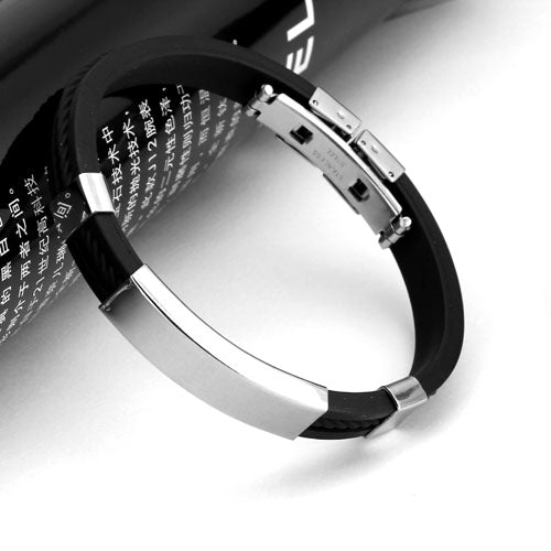 ID wristband stainless steel