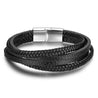 Black Layer Bracelet Men