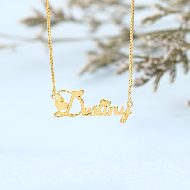 Custom Name Necklace Personalized Name Chain Great Gift For Mother