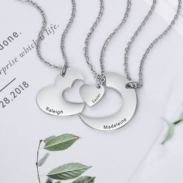 Heart Pendant Necklace Best Gift For Friends