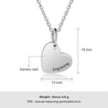 Love Necklace 18K White Gold Plated