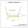 Custom Name Necklace Gold Personalized Name Necklace Cheap Gold Chain With Name Best Gift For Girls
