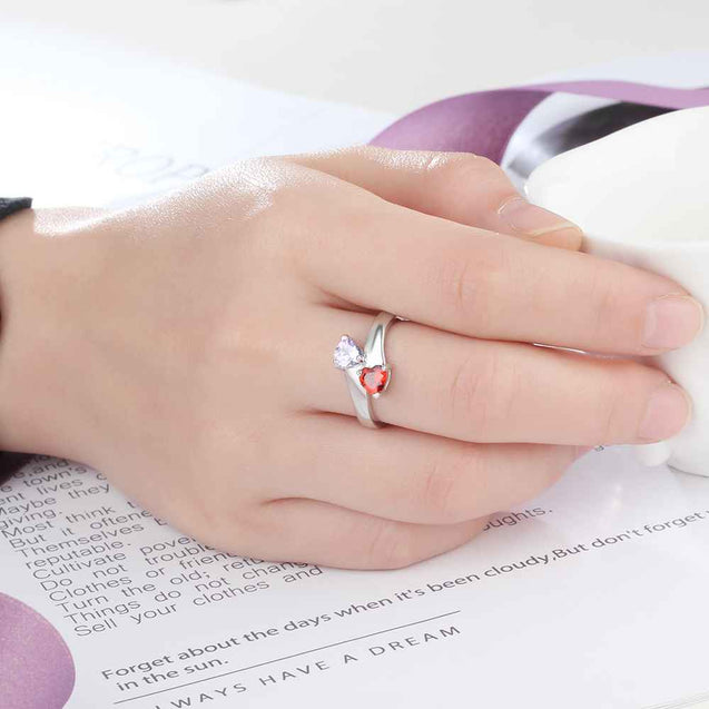 simple promise rings mother ring