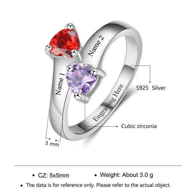 simple promise rings mother rings