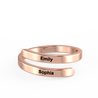 simple promise rings for her