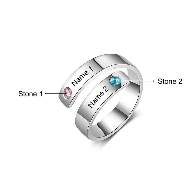 promise rings best gift for her