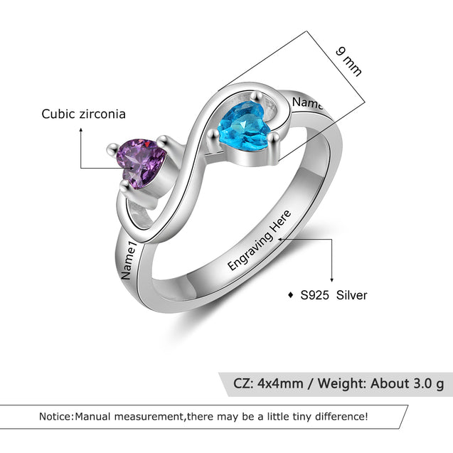 Infinity Mother Rings gift idea