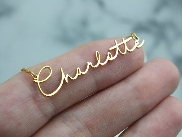 Custom Name Necklace Personalized Name Chain Pendant Great Gift for Girls