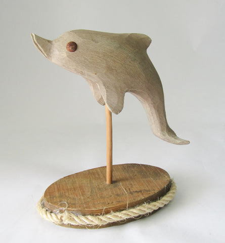 Wooden Dolphin Figurine | Rubies Inc., Chatham, Ontario, Canada