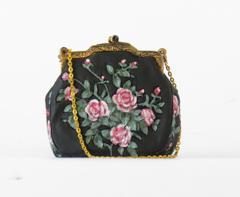 Small Black & Pink Purse | Rubies Inc., Chatham, Ontario, Canada